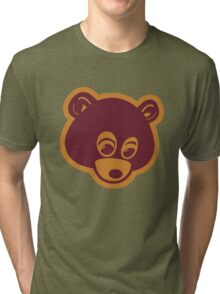 The Dropout Bear (Kanye West) Tri-blend T-Shirt
