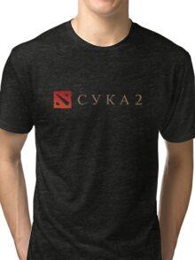 CYKA 2 Funny - Dota 2 Shirts Tri-blend T-Shirt