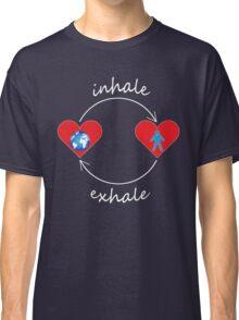 Inhale Exhale Classic T-Shirt