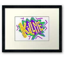 Kill Me!!!!! Framed Print