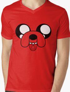 Jake on Acid Mens V-Neck T-Shirt