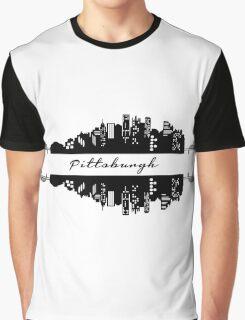 Pittsburgh Skyline Graphic T-Shirt