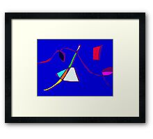 Apart from Reality Framed Print