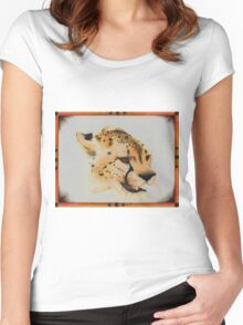 The Hot Cheetah Women's Fitted Scoop T-Shirt