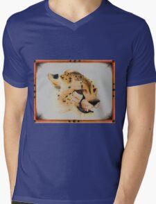The Hot Cheetah Mens V-Neck T-Shirt
