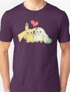Pikachu & Terriermon T-Shirt