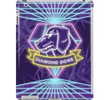 Metal Gear Solid Diamond Dogs 80s Synthwave iPad Case/Skin