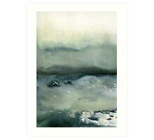 ocean landscape Art Print