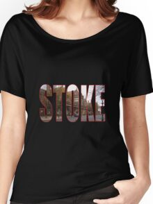 Stoke Women's Relaxed Fit T-Shirt