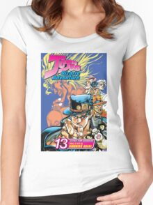 Jojo's Bizarre Adventure Cool Stuff Women's Fitted Scoop T-Shirt