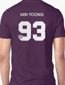 Min Yoongi (Suga) Real Name BTS Member Jersey HYYH Unisex T-Shirt