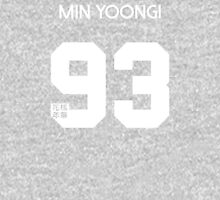 Min Yoongi (Suga) Real Name BTS Member Jersey HYYH Women's Relaxed Fit T-Shirt