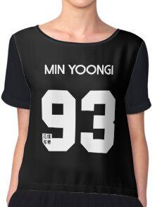 Min Yoongi (Suga) Real Name BTS Member Jersey HYYH Chiffon Top