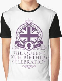 Queens 90th Birthday 2016 Graphic T-Shirt