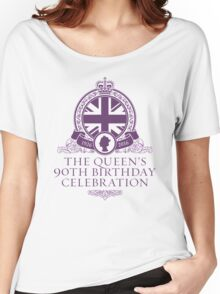 Queens 90th Birthday 2016 Women's Relaxed Fit T-Shirt