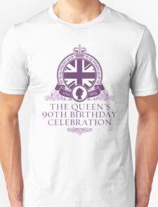 Queens 90th Birthday 2016 Unisex T-Shirt