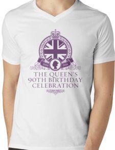 Queens 90th Birthday 2016 Mens V-Neck T-Shirt