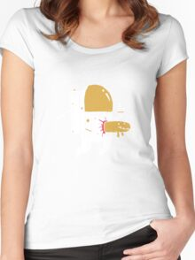 Space Sucks Women's Fitted Scoop T-Shirt