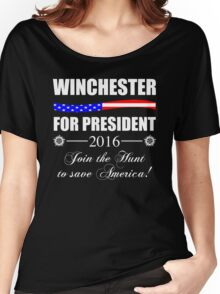 Supernatural SPN 2016 Election Parody Women's Relaxed Fit T-Shirt