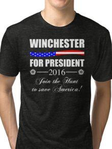 Supernatural SPN 2016 Election Parody Tri-blend T-Shirt