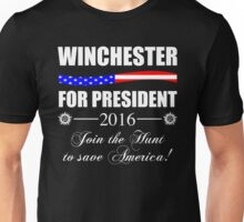 Supernatural SPN 2016 Election Parody Unisex T-Shirt