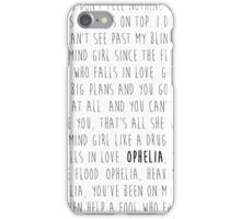 Ophelia - The Lumineers iPhone Case/Skin