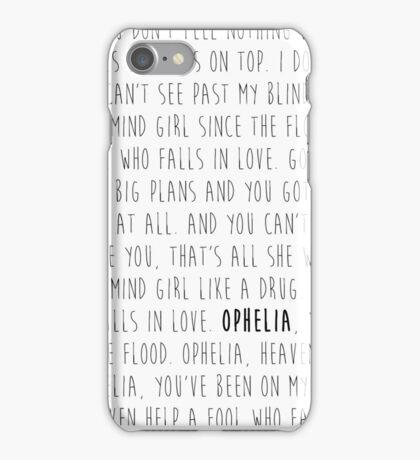 Ophelia - The Lumineers iPhone Case/Skin