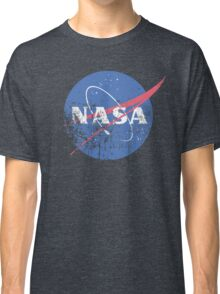 Distressed Nasa Logo Classic T-Shirt