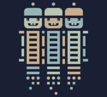 Acorn Rocket Bots Multi Baby Tee