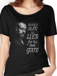 Black Sails - Every Man is Lied... Women's Relaxed Fit T-Shirt