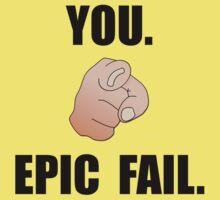 Epic Fail One Piece - Short Sleeve