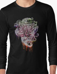 Mixtape Graffiti  Long Sleeve T-Shirt
