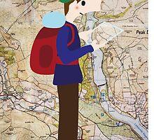 Hiker by Clara Dziemianko