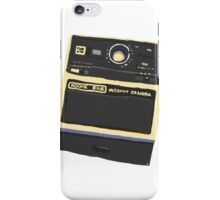 Polaroid drawing iPhone Case/Skin
