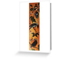 Jay, Jackdaw and Hooded Crow Greeting Card