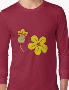 Watermelon Blossoms Long Sleeve T-Shirt