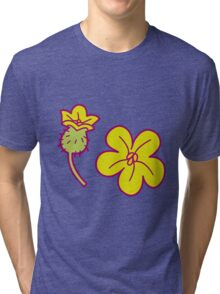 Watermelon Blossoms Tri-blend T-Shirt