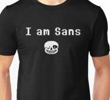 I am Sans ( front ) Unisex T-Shirt