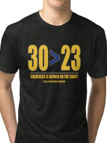 30 > 23 | Curry > James Tri-blend T-Shirt