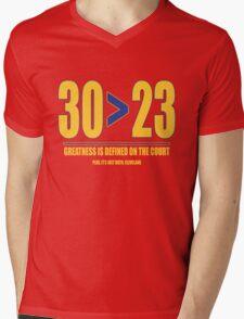 30 > 23 | Curry > James Mens V-Neck T-Shirt