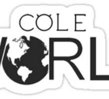 Cole world Sticker
