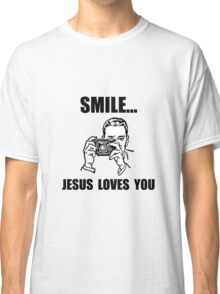 Smile Jesus Loves You Classic T-Shirt