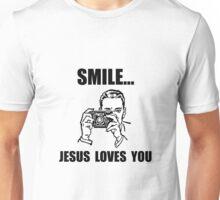 Smile Jesus Loves You Unisex T-Shirt