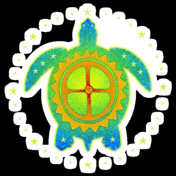 World Turtle 2 by Jan Landers