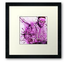Biggie Smalls - Gimme The Loot  Framed Print