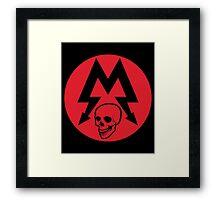 METRO 2033 Framed Print