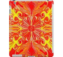 Red Flower Abstract iPad Case/Skin