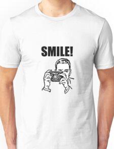 Vintage Camera Smile Unisex T-Shirt