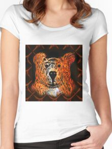 Kindly Bear Women's Fitted Scoop T-Shirt