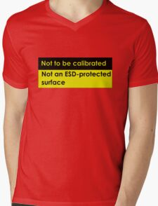 Not to be calibrated Mens V-Neck T-Shirt